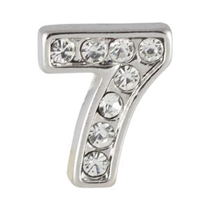 Picture of Silver Number Seven Charm